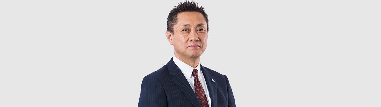 交通建設 代表取締役社長 嶋 誠治